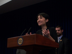 State Rep. Patty Kim, who represents Harrisburg/Steelton lgbt community.