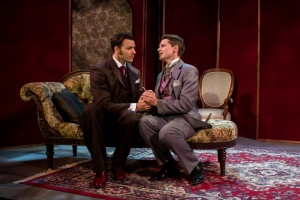 "Chancellor Dean and Brent Knobloch in Mauckingbird's ""The Importance of Being Earnest"" (photo by Luis Fernando Rodriguez)"